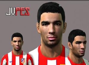 Face de Arda Turan Meia Turco de 24 anos, atualmente joga no Atlético de Madrid, ex-Galatasaray para PES 2011 Download, Baixar Face de Arda Turan - Atlético de Madrid para PES 2011