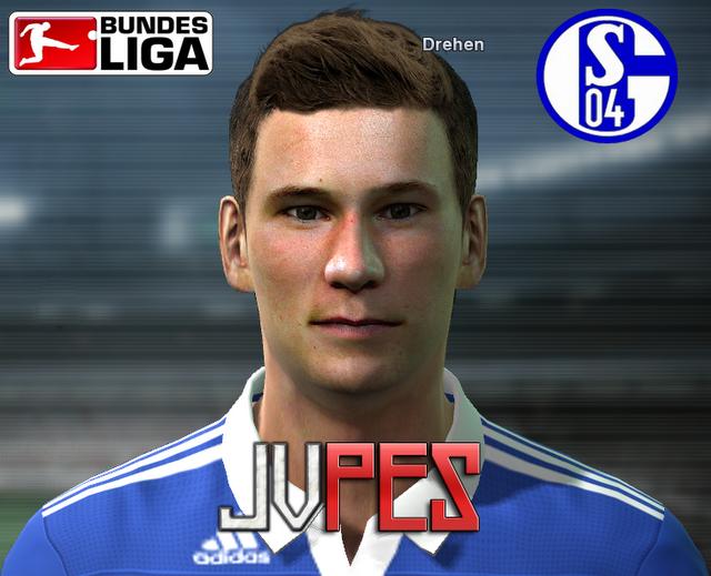 Face de Julian Draxler Meio-campista Alemão de 17 anos, atualmente joga no Schalke 04 para PES 2011 Download, Baixar Face de Julian Draxler (Schalke 04) para PES 2011