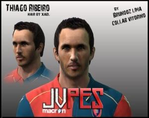 Face de Thiago Ribeiro Atacante Brasileiro de 25 anos, atualmente joga no Cagliari da Itália para PES 2011 Download, Baixar Face de Thiago Ribeiro - Cagliari para PES 2011