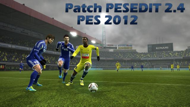 Patch PESEDIT 2.4 para PES 2012 Download, Baixar Patch PESEDIT 2.4 para PES 2012