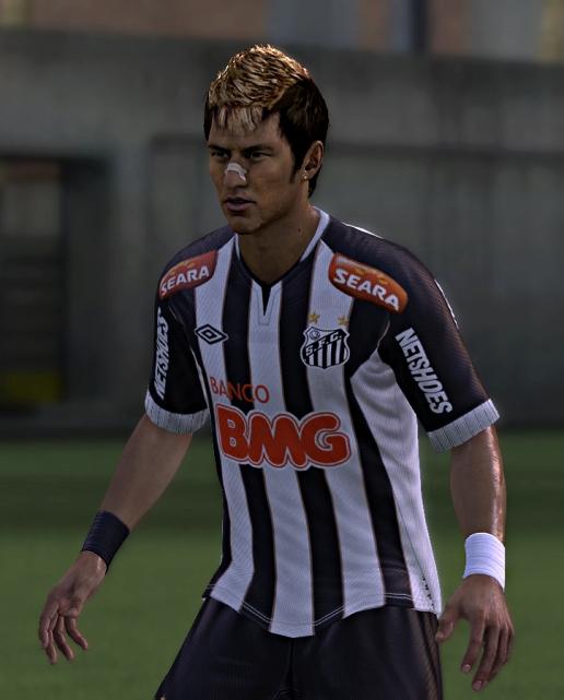 FIFA 12: Face Neymar